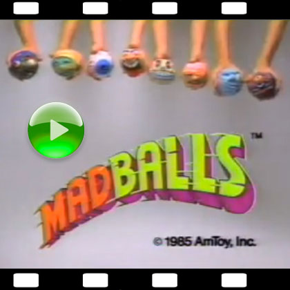 1980's Madballs TV Commercial