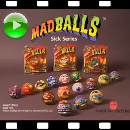 New Madballs Commercial